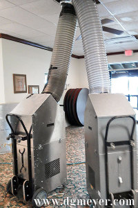 Duct Cleaning Equipment-- Set up