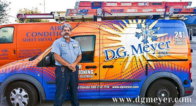 D.G. Meyer Inc. Service Department Employee