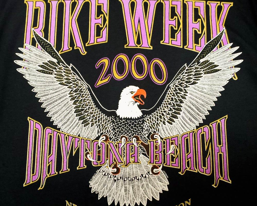 Bike Week Tee 2000