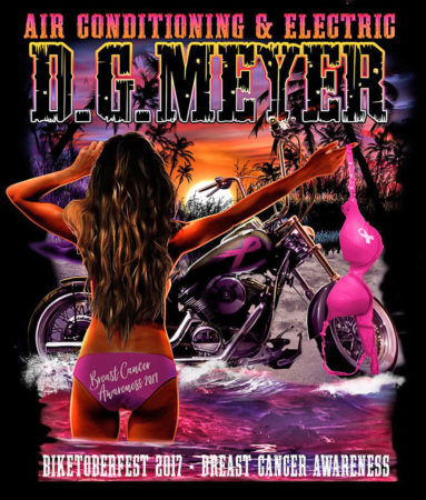 Biketoberfest 2017 Breast Cancer Awareness